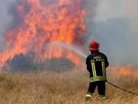 Anziano muore bruciato mentre tenta di spegnere un incendio