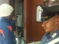 Coppia di Vallesaccarda denunciata per furto di energia elettrica.