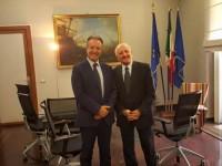 Incontro a Napoli tra il governatore De Luca e il sindaco di Benevento