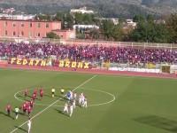 La Casertana batte il Benevento e conquista la vetta del girone C.