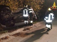 18 enne ferito in incidente stradale a Summonte.