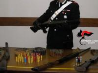 Armi e munizioni, denunciati tre pregiudicati.