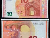 Nuova 10 euro contraffatta.