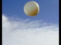 Pallone-sonda Greenpeace da Campania a Puglia
