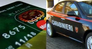 Rubano la carta bancomat e prelevano contanti: denunciati dai carabinieri