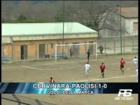 Goal  Cervinara-Paolisi 1-0  (Della Marca)