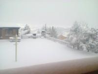 Irpinia e Sannio, torna la neve sulle alture.