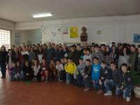 Studenti Federico Torre di Benevento a Scuola di Legalita'.