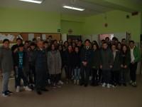 Fiamme Gialle incontrano studenti Baselice e San Bartolomeo in Galdo.