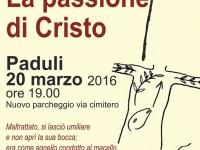 Passione di Cristo edizione 2016 a Paduli