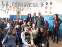 Fiamme Gialle incontrano studenti di San Giorgio del Sannio.