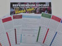 Domani ad Avellino raccolta firme per Referendum Sociali.