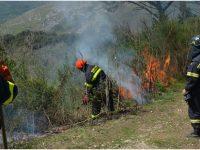 Benevento. Campagna Anti Incendi Boschivi dei Vigili del Fuoco.