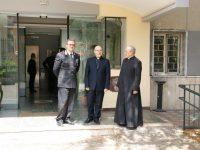 Arcivescovo Accrocca in vista al Comando Provinciale dei Carabinieri