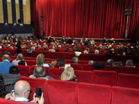 Attori Casa di Reclusione di Eboli in scena a a Giffoni Teatro.