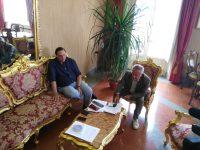 Il sindaco Mastella ha incontrato stamani il presidente Vigorito