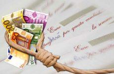 In difficoltà dopo morte marito chiede prestito, tassi 500%
