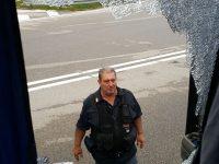Sassaiola contro pullmino tifosi Cervinara, tre Daspo