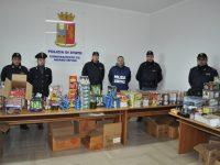 La polizia sequestra 300 kg. di fuochi proibiti. In manette un pregiudicato
