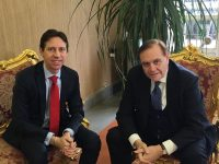 Il sindaco Mastella ha ricevuto il console di Francia, Jean-Paul Seytre