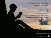 """Poesia. Al via il """"Memorial Giovanni De Toma"""""""