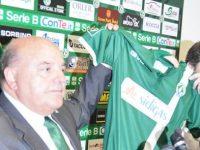 Walter Taccone presenta il main sponsor e lancia stoccate a D'Agostino.