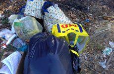 Cervinara. Via Quercino ancora rifiuti abbandonati.