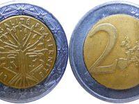 In circolazione monete false da due euro.