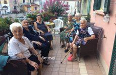 San Martino V.C.: si ritrovano dopo diversi anni sei nonnine 90 enni.