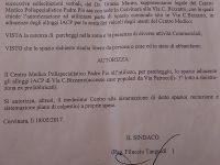 Cervinara. Mauro Grasso: ecco l'autorizzazione per il parcheggio.