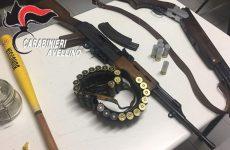Colpi di fucile contro un furgone: 25enne arrestato dai carabinieri.
