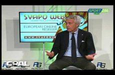 Cosimo Sibilia ospite della trasmissione Goal