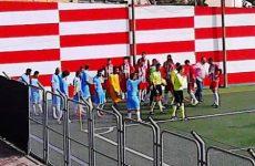 Montesarchio in formazione tipo nel derby con il San Martino V.C.