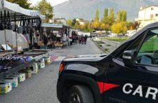Lioni. Controlli dei Carabinieri al mercato settimanale