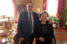 Mastella ha ricevuto la componente della Consulta regionale per l'emigrazione Maturi