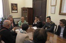 Montesarchio. Il sindaco Damiano alla riunione del comitato per l'ordine pubblico.