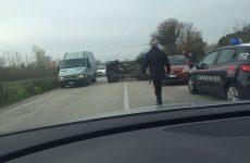 Cervinara- Incidente stradale sulla scorrimento veloce