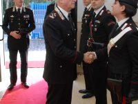 Il Comandante Generale dell'Arma dei Carabinieri, in visita alla Compagnia di S.Angelo dei Lombardi.