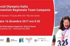 Montesarchio. Un Natale coi fiocchi: Special Olympics Italia: prima  convention regionale