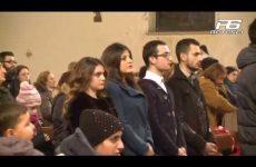 Cervinara. Chiesa di Gesù Misericordioso: impartizione cresima.