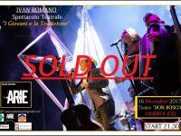 Sold out per il cantautore cervinarese Ivan Romano sabato al Don Bosco di Caserta.