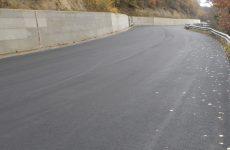 Completato il rifacimento della strada di collegamento Trevico-Vallesaccarda.