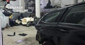 Scoperta dai carabinieri centrale per il riciclaggio di auto rubate.