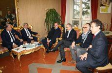 Il sindaco Mastella ha ricevuto stamani l'ad di ACEA SpA Donnarumma