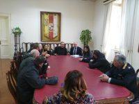 Il sindaco Mastella ha incontrato gli operatori del centro polifunzionale di via Firenze