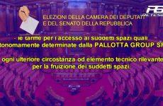 Elezioni della Camera dei Deputati e del Senato della Repubblica fissate per il giorno 4 marzo 2018.