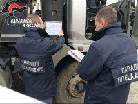 Sequestrata dai carabinieri area di cava. Tre persone indagate per traffico illecito di rifiuti.