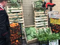 San Martino Valle Caudina. Carabinieri sequestrano 350 Kg di Frutta e ortaggi.