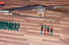 Omessa custodia di armi e detenzione illegale di munizioni:denunciato un 65 enne.