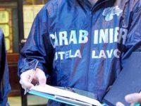 Carabinieri in azione sui luoghi di lavoro: sanzioni per lavoro nero.